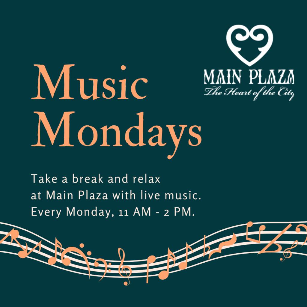 Music Mondays Website Poster
