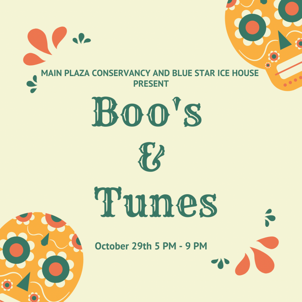Boos and Tunes Website Graphic