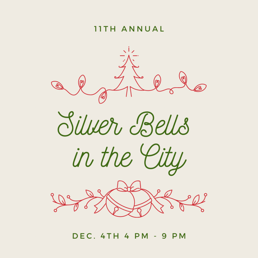 Silver Bells in the City website graphic